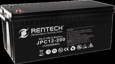 Rentech Lead Carbon 200Ah 12V